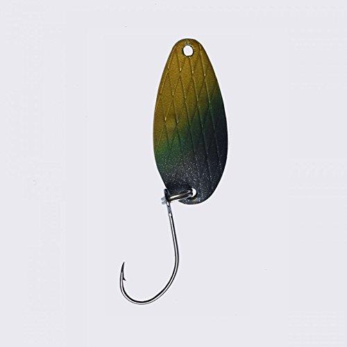 Fishstar24 Forellenblinker Premium Kelo Lesynka Kelo Special 3,0g Mini Blinker UV