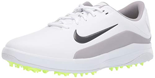 Nike Vapor White/Medium Grey/Atmosphere Grey Men's Golf Shoes Size 10