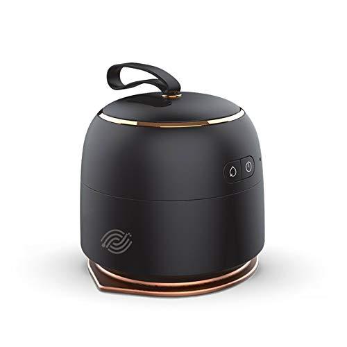 Mobilie - Mini plancha a vapor de viaje inalámbrico, color negro clásico