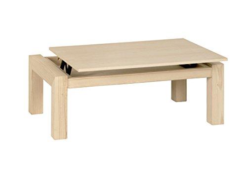 Table basse Athènes relevable 120 x 70 cm.