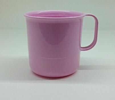 Tupperware Tasse Retro 350ml Becher Trinkbecher Tupper (rosa)