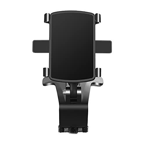 LLSL Soporte de Montaje del Clip de automóvil, Soporte de teléfono de Tablero de Tablero de Control de 360 Grados, Soporte para teléfono de Visera Solar, Adecuado para teléfonos de 3 a 7 Pulgadas
