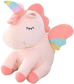 Unicorn Stuffed Animal Plush Unicorn Toy Gifts for Girls Toy Doll Children Toys Baby Cuddle Toys Birthday Gifts White