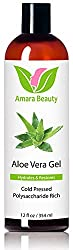 Amara Organics Aloe Vera Gel from Organic Cold Pressed Aloe