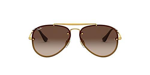 Ray-Ban JUNIOR 0RJ9548SN Gafas de sol, Gold, 54 Unisex