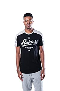 Ultra Game NFL Las Vegas Raiders Mens Active Crew Neck Jersey Tee Shirt, Team Color, Small from Icer Brands