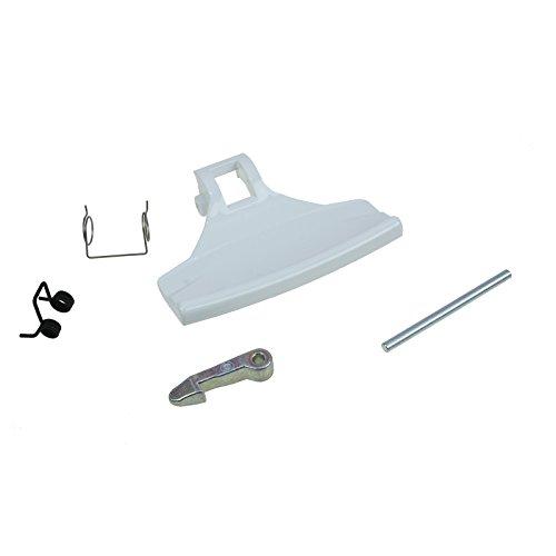 Genuine Zanker Waschmaschine TÜR GRIFF-Kit 4055186631
