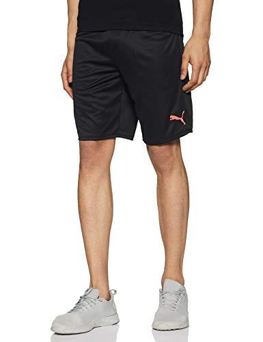 PUMA Herren MCFC Shorts Replica Black-Georgia Peach, M