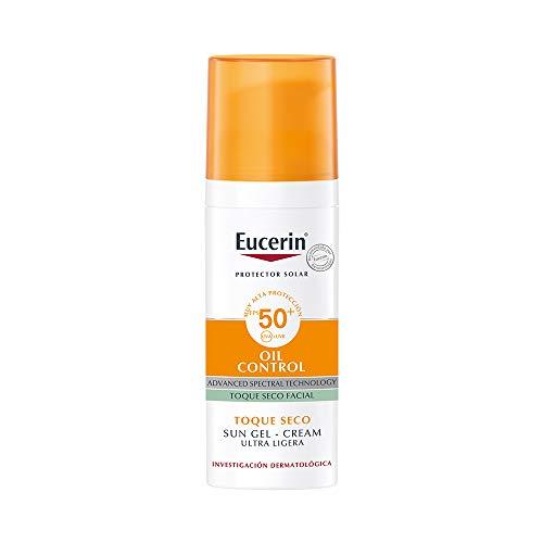 Eucerin Protector solar facial efecto mate toque seco Oil Control, , 50 ml