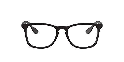 Ray-Ban RX7074 5364 52 Rayban RX7074 5364 52 Rechteckig Brillengestelle 52, Schwarz