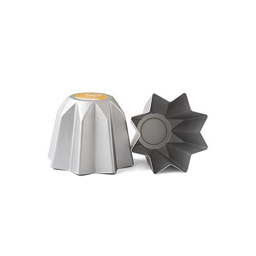 Decora 0062687 BACKFORM FÜR Mini-PANDORO AUS ELOXIERTEM Aluminium 500 G