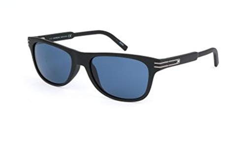 Montblanc Mont Blanc Sunglasses Mb641S 02V-56-18-140 Gafas de sol, Negro (Schwarz), 56 para Hombre
