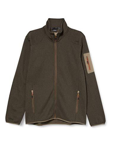 CMP Veste en polaire tricotée avec poche pour homme 30h7007 M bois