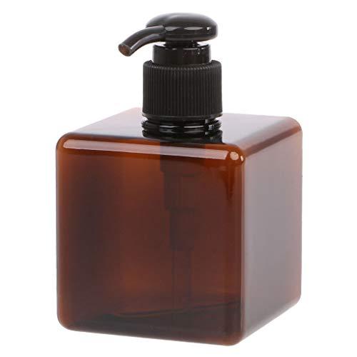 HOTPINK1 Lotion-Behälter, groß, Kunststoff, Shampoo-Flasche, nachfüllbar, Reiseflasche