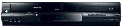 Toshiba SD 38 VE K TE DVD-Player/ VHS-Rekorder Kombination (DivX-Zertifiziert) schwarz