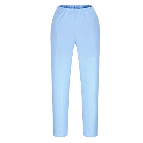 shane/&shaina Fermeture /à glissi/ère Bouton Pantalon de Travail Pantalon m/édecins infirmi/ères Longue
