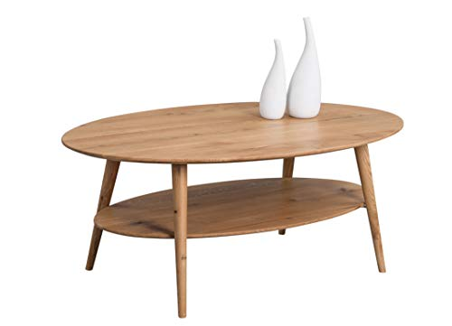 HomeTrends4You Phil salontafel, hout, bruin, lengte 115 cm, breedte 70 cm, hoogte 42 cm