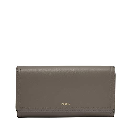 Fossil womens Flap Clutch, Shadow, 7.63 L x 1 W 4 H US