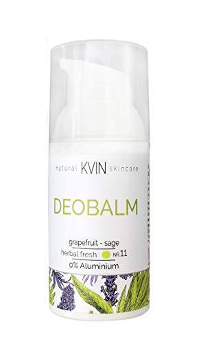 Deobalm grapefruit - sage, 30 ml desodorierende Creme im Spender, natürlich und effektiv, ohne Aluminium