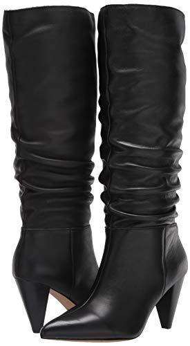 Kensie Women's Kalani Fashion Boot, Black, 7.5 M US