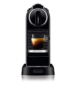 De'Longhi | Nespresso Citiz Solo Capsule Coffee Machine | EN167B | One Touch, Automatic Coffee Machine | Black