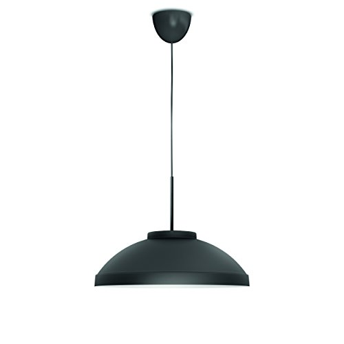 Philips 409089316 Hailton Luminaire d'Intérieur Suspension LED Métal Anthracite 8 W