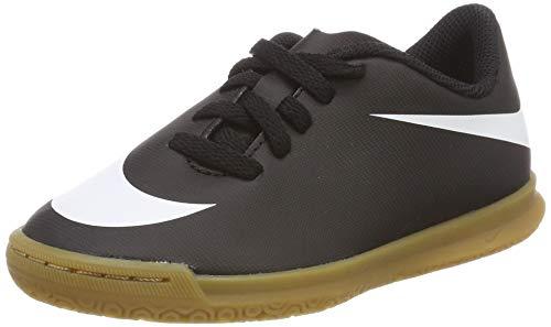 Nike Jr Bravata II IC, Zapatillas de Fútbol Unisex niños, Negro (Black/White-Black 001), 36.5 EU