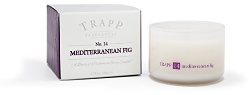 TRAPP Ambiance Collection No. 14 Mediterranean Fig Poured Candle, 3.75-Ounce Jar