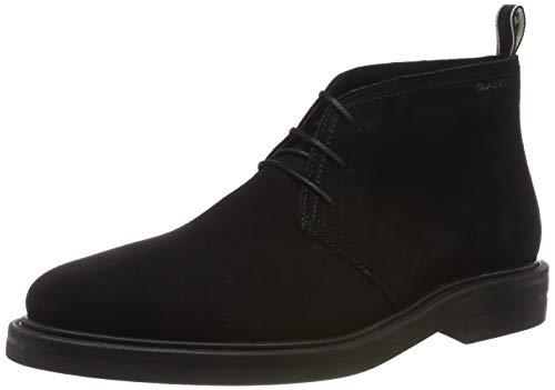 GANT Footwear Herren Fargo Desert Boots, Schwarz (Black G00), 42 EU