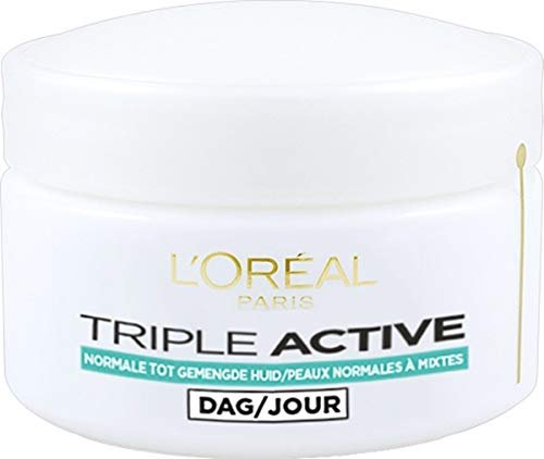 L'Oreal Triple Active Multi-Protective Day Cream 24H Hydration - For Normal/Combination Skin 50ml