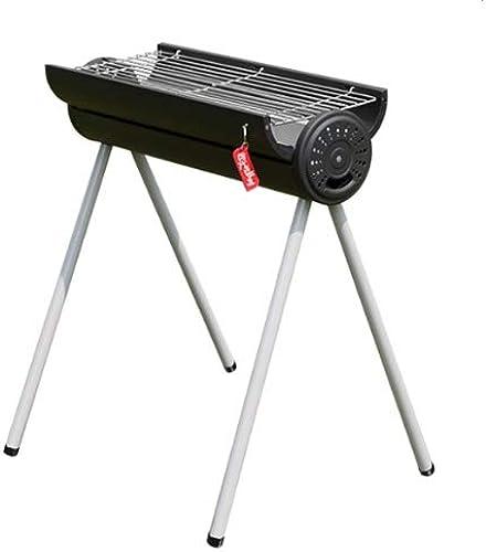 Barel Portable Grill Plié Barbecue Barbecue Barbecue à Charbon Barbecue à Charbon Idéal for Le Camping Camping en Plein air Randonnée Pique-Nique Grill (Taille   Low Configuration)