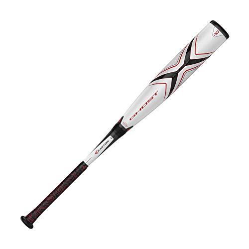 "EASTON Ghost X Evolution -10 (2 3/4"") USSSA Senior League Baseball Bat   29 inch / 19 oz   2019   2 Piece Composite   CXN Evolution   EXACT Carbon   FLEX Barrel   Speed End Cap   Lizard Skin Grip"