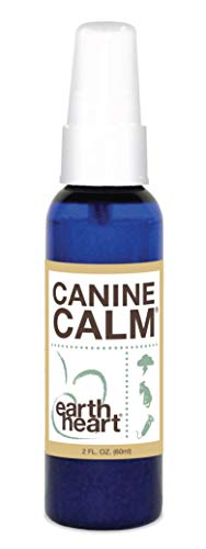 Earth Heart - Canine Calm Aromatherapy Essential Oils for Calming and De-Stressing Frightened Dogs - 2 oz Mist Spray