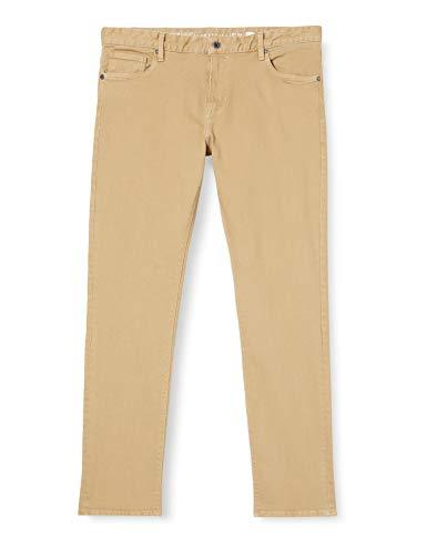 Cortefiel Smith 8C Pants, Beige/Camel, 44 Mens