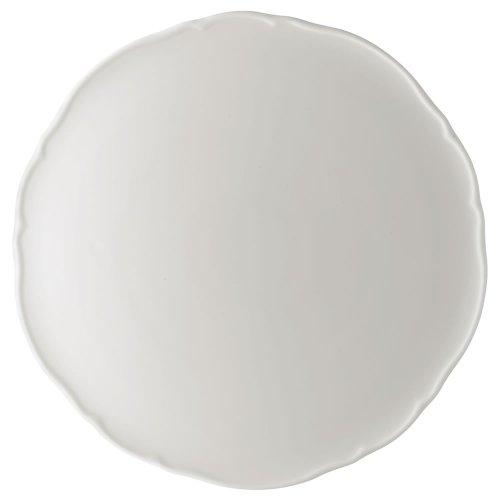 Hutschenreuther 02013-800001-12843 Maria Theresia Tortenplatte 32 cm, weiß