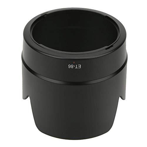 Archuu Parasol para Objetivo, Parasol de plástico ET-86 para cámara, Accesorio de Repuesto para fotografía con luz de Fondo, para cámaras para Canon EF 70-200 mm f2.8 IS