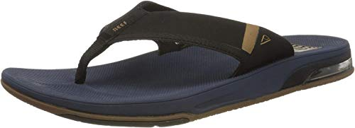 Reef Fanning Low, Chanclas Hombre, Navy, 43