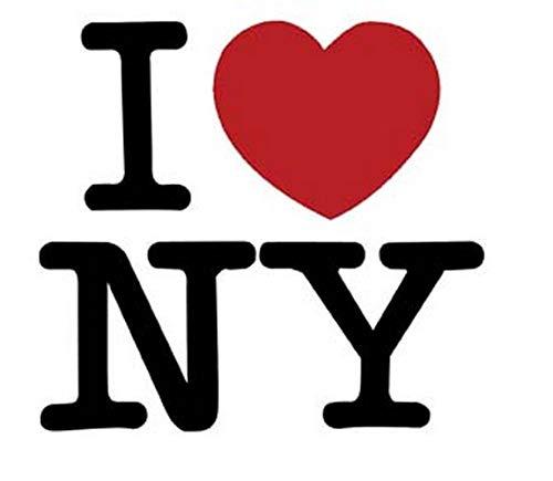I Love New Philadelphia Mall York Large-scale sale Heart Sticker Decal Vintage Souvenir Skateboard