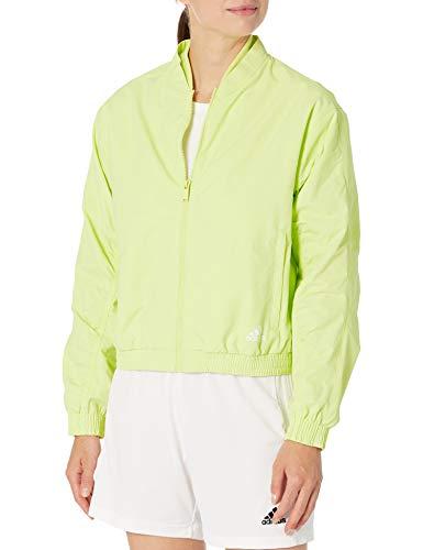 adidas Woven Bomber Jacket Chaqueta, Mujer, Tinte Amarillo, S