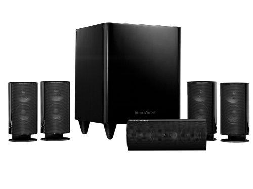 Harman Kardon HKTS20BQ 5.1 Home Theater Speaker System (Black)