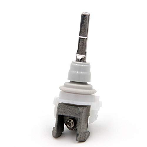 BAAQII Elektrische Zahnbürste Ersatz Verbindungsstange Teile Metallwelle/Vibrationsspitze/Wellenanschlussblock für Philips HX9340 HX6730 HX6930 HX6530