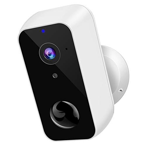 Wireless Security Camera Outdoor, XTU Rechargeable Battery Powered Camera 9600mAh, 1080P WiFi Surveillance Camera, Night Vision, PIR Motion Detection, 2-Way Audio, IP65 Waterproof, Cloud/SD Storage