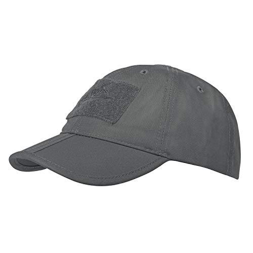 Helikon Herren Tex Baseball Folding Cap-Polycotton Ripstop, Shadow Grau, Einheitsgröße