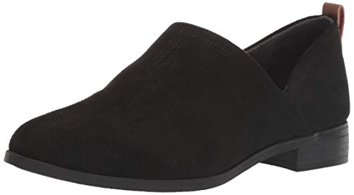 Dr. Scholl's Shoes Women's Ruler Ankle Boot, Black Microfiber, 7 M US