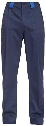 BWOLF Ares Pantalon de Travail 100% Coton pour Homme - Bleu - L