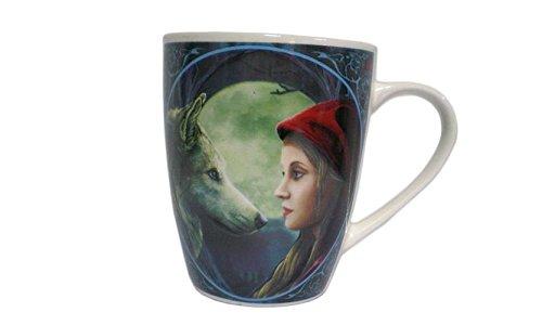 Puckator MULP25 Lisa Parker - Taza (Porcelana, 12 x 8,5 x 10 cm), diseño de Caperucita Roja