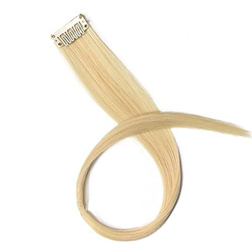 MixFactory coser peluca de color largo recto sintético extensión de pelo ondulado puro clip en 20 pulgadas moda peluca 20 pulgadas 51