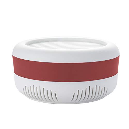 YWQQDP Moskito-Killer Lampe, Haushalt Mute USB Fotokatalysator Moskito Fangleuchte, 360 ° Moskito-Trapping kann an der Wand verwendet Werden, Startseite im Freien,Rot