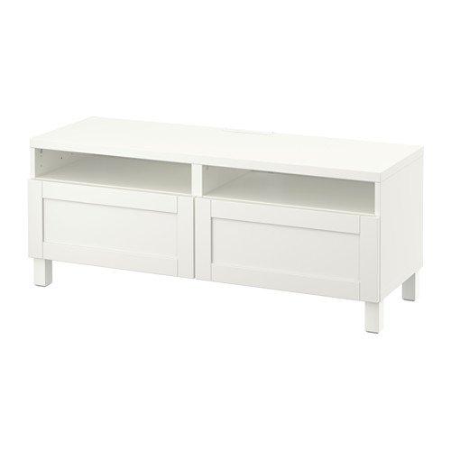 IKEA TV-Schrank mit Soft-Close-Schubladen Hanviken weiß 4202.20511.2610