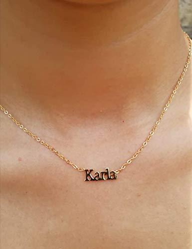 Collar Con Nombre Personalizado  marca Moda en Joyas